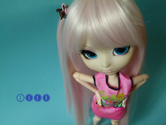 My tsundere little girl <3 (indecisive_one ) Tags: pink fashion hair doll barbie pack planning kawaii pullip fashionista jun luka obitsu rewigged vocaloid parabox megurine picmonkey