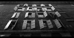 Windows 2012 B+W Edition (Joe <3 Photography) Tags: newyorkcity windows white black building shutters