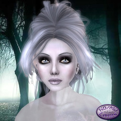 Little me - Ghost Avatar (Alea Lamont) Tags: halloween see scary mesh avatar ghost pale spooky tiny through transparent ghostly bodies petite spook meshes