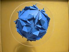 Cruiferae BirthdayDama (Andrey Hechuev |  ) Tags: ball paper origami sphere modular papier paperfolding papiroflexia carta papercraft papercrafts palla modularorigami pallina kusudama sfera  magicball     xe4  modulare hech paperball   papiel  origamimodulare       oridry andriyx khech hechik      andreyhechuev