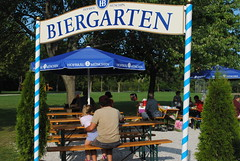 "Biergarten in Estabrook • <a style=""font-size:0.8em;"" href=""http://www.flickr.com/photos/79089555@N03/8119537305/"" target=""_blank"">View on Flickr</a>"
