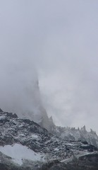 no alpine climbing fun at this weather (heavy autumn snowfall), Chamonix (Eifeelgood) Tags: sky snow storm france mountains clouds magic favorites atmosphere places elements chamonix magicmoments magicplaces granitegneiss eifeelgood
