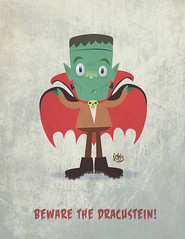 Dracustein (J Chris Campbell) Tags: monster dracula frankenstein jchriscampbell
