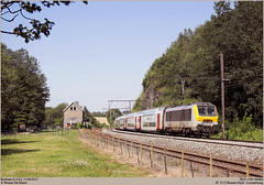 NMBS 1349 @ Braibant (Wouter De Haeck) Tags: ic luxembourg alstom namur nmbs brusselzuid sncb sterpenich hle13 l162 braibant