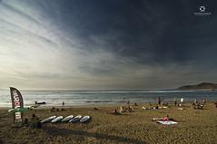 Playa de Las Canteras. (David Azurmendi) Tags: travel david praia beach landscape islands photo playa paisaje viajes gran canary fotografia canaria canteras azurmendi