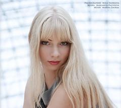 in light (Irina S. Smirnova) Tags: portrait girl walk blond shoppingmall citywalk portraitphotography