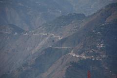 Main approach road to Muzaffarabad from Abbotabad, AJK, Kashmir (Paul Snook) Tags: kashmir ajk muzaffarabad