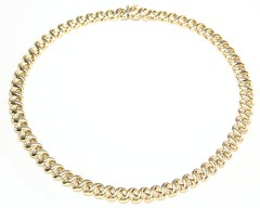 1018. Italian Gold Necklace