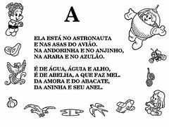 Alfabetizando com a Turma da Mnica Textos. (Atividades Educao Infantil) Tags: turmadamnica alfabetizao alfabetos vogais alfabetoemtextos