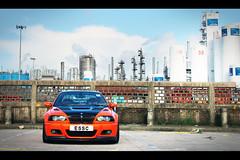 BMW M3 E46, Tai Po, Hong Kong (Kevin Ho  Photography) Tags: auto blue orange black phoenix car sport yellow contrast hongkong grey frozen industrial photoshoot gray f10 german bmw motor dakar m3 m6 m5 supercar e30 1m motorsport admiralty e34 taipo e46 e36 e60 e28 e39 essc e92 e62 bmwochk