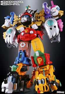 BANDAI 超合金 超合體 King Robot Mickey & Friends