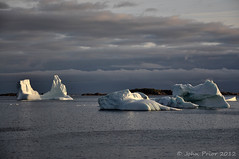 After the storm! (John Prior 55) Tags: clouds newfoundland seascapes icebergs stormyweather twillingate