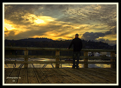 lazysunday (BettieBlu) Tags: sunset sky people colour water clouds landscape scenery shadows bc dusk portmoody cans2s bettieblu