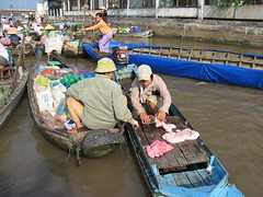 Floating market near Cần Thơ (mbphillips) Tags: market floatingmarket fareast southeastasia 越南 ベトナム 베트남 asia アジア 아시아 亚洲 亞洲 mbphillips canonixus400 市場 市场 시장 mercado geotagged photojournalism photojournalist travel vietnam