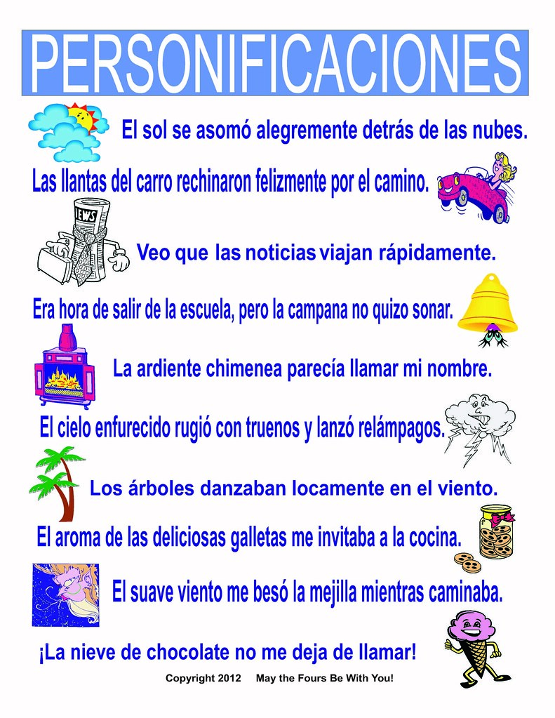 sample of personification advertising essay examples advertising the world s most recently posted photos by the writing doctor personificaciones spanish classroom poster the