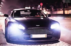 Lights on, engine on. Let's go! (Andre.Vieira.) Tags: cars portugal car canon photography 50mm martin andre exotic porto fotografia 18 supercar andr v8 aston vantage vieira serralves 50d v8v