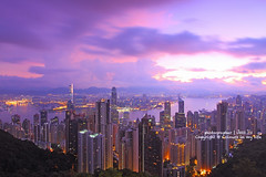 Hong Kong morning (Jess Yu) Tags: china city morning travel light sunset sea vacation sky urban cloud holiday building tower tourism glass beautiful beauty skyline architecture modern skyscraper port sunrise landscape asian hongkong dawn harbor pier office colorful asia downtown ship cityscape view harbour dusk background chinese peak scene victoria business busy metropolis tall economy finance