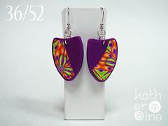 36/52 (Art Studio Katherine) Tags: charity love serbia joy polymerclay help earrings nena subotica srbija nevenkasabo ankehumpert 52pairsofearrings