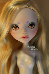 lagoona repaint (Amber-Honey) Tags: monster amber high mod doll ooak honey custom mattel repaint lagoona