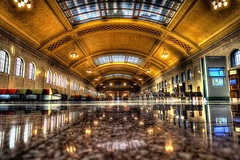 The Saint Paul Union Depot (StefPress) Tags: station minnesota trainstation neo marble saintpaul uniondepot topazadjust topazdenoise topazsoftware