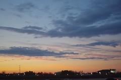 Sky (Génial N) Tags: sunset sky usa america texas pentax houston marmalade pentaxk01