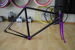 Magistroni TRACK (El ultimo aliento antes del coma.) Tags: old track bikes frame fixie fixedgear pista bikepirates bikeporn trackbikes fixedgearbikes magistroni