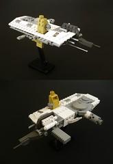 space slab (Adult_Boy) Tags: lego space homeworld microspace microscale