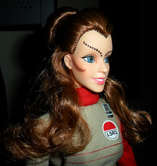 Custom Maya Side View (trev2005) Tags: space 1999 maya doll action figure custom barbie psychon alien catherine schell anna kingandi face portrait