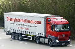 Mercedes Actros new look WPI YE62 (gylesnikki) Tags: red truck international artic mp4 oleary