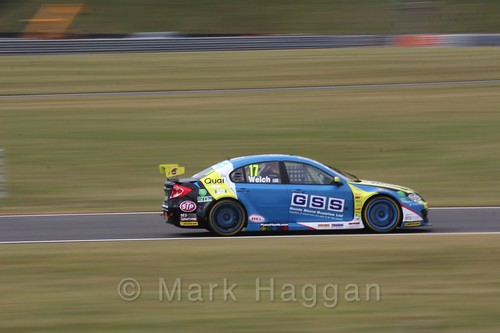 Dan Welch in Touring Car action during the BTCC 2016 Weekend at Snetterton
