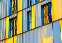 BRYAN_20160307_IMG_1891 (stephenbryan825) Tags: liverpool abstracts blue buildings contrast glass graphic reflection selects vivid windows yellow