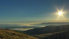 Mist in the valleys (reynolds31) Tags: summer mist wales sunrise landscape dawn breconbeacons inversion fanybig