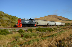 Northwestern Pacific at Sears Point (CN Southwell) Tags: railroad pacific rr northwestern nwp 1501 mp15dc