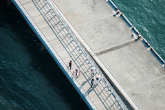 Summer's Snap 2016 : SEA Kanmon Channel (Colorful-wind) Tags: 2016 7 color colorful colors ferry fujifilm fukuoka harbor japan july kitakyusyu light lightandshadow moji mojiko sea ship summer sun tourist xt1