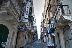 St. Ursula Street, Valletta (Michael N Hayes) Tags: malta valletta mediterranean europe stursulastreet summer fujifilmxpro1 sea culture city