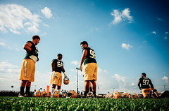 Taller than the lights (tyle_r) Tags: vscofilm 2016 july greenbaypackers greenbay raynitschkefield trainingcamp wisconsin