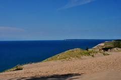 dunes (greenelent) Tags: blue nationalparks sleepingbeardunes beach lake water seashore lakemichigan mi 365 photoaday