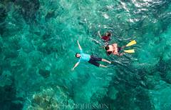 Floating Away in Every Direction (Ksano HH) Tags: pulau pemanggil island malaysia johor mersing visit kampung pontianak phantom 3 advance drone aerial sea ocean float snorkeling