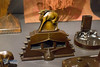 Adrianus Remiëns (1890-1972).  Ink blotter, 1919. Patinated bronze. (LEXsample) Tags: amsterdam amsterdamseschool cervidae europe lexsample netherlands noordholland oudzuid pauluspotterstraat stedelijkmuseumamsterdam wonenindeamsterdamseschool animal decoration deer fantasy hert iron mammal metal metallic nature ornament terrestrialmammal warmblooded nl
