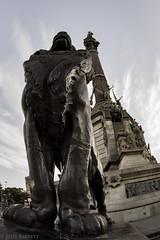 Barcelona 2016 (jcl8888) Tags: nikon d7200 travel barcelona spain statue lion tokina 1017mm