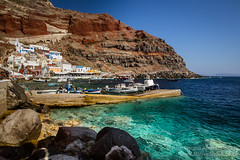 Ammoudi Bay in Santorini, Greece