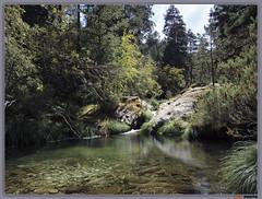 ... y nos baamos. ... And We bathe (AGL PHOTO) Tags: naturaleza agua lozoya sierra guadarrama parque natural verde poza rio