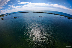 Sea of Japan -  (uemii2010) Tags: japan niigata fisheye nagaoka teradomari sea cloud sky canoneos7d tokinaatx107 atx107afdx