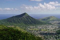 The green craters of Hawaii Kai (tiger_tim_2000) Tags: afternoon halonacoast hawaiikai kamehameridge kaupobchprk kokocrater kokohead makapuu oahu timeperiod windward