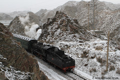I_B_IMG_8183 (florian_grupp) Tags: asia china steam train railway railroad bayin lanzhou gansu desert landscape loess mountains sy ore mine 282 mikado steamlocomotive locomotive