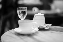 Awake your senses... (EHA73) Tags: summiluxm11450asph leica leicamm typ246 blackandwhite bw coffee water cups