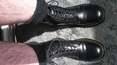 IMG-20160823-WA0001 (rugby#9) Tags: dm feet wear cushioned comfort sole cushion dms docmartens lace original soles bouncing doctormarten docs doc eyelets icon boots drmartensboots dr martens drmartens airwair air wair yellow stitching yellowstitching 10 hole 10hole size7 7 1490 black socks blacksocks shoe footwear boot indoor drmartenssocks drmartensblacksocks dmsocks dmblacksocks
