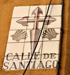 Azulejo de la calle de Santiago. Madrid (Carlos Vias-Valle) Tags: azulejo callesantiago