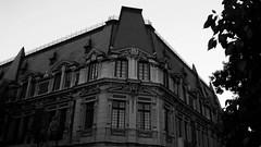 Institute DUOC UC (Karol MIlos) Tags: arquitecture duoc uc chile santiago centro black white bw building antique old horror institute antiguo