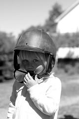Rider (hannasamuelsson) Tags: daughter girl toddler kid children streetart street art bw blackandwhite nature forest landscape photography happy sport adventure explore sweden stockholm uppsala animals helmet fashion